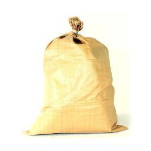 (送料無料)高級ガラ袋(うす茶) ひも付PP 60cm×90cm(200枚)|iwauchi-kanamonoten