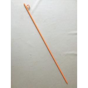 (送料無料) ロープスティック シングル 16mm × 1500mm 黄 (10本入)|iwauchi-kanamonoten