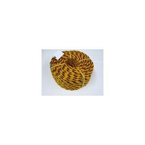 トラロープ #9 × 100m ( 1巻 ) 実寸 約8mm|iwauchi-kanamonoten