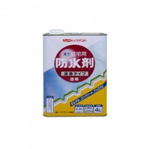 【代引き不可】ニッペ ホームペイント 住宅用防水剤 4L