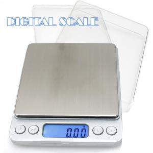 精密デジタルスケール [ 0.01g - 500g ] PCS機能 電子スケール キッチンスケール ...