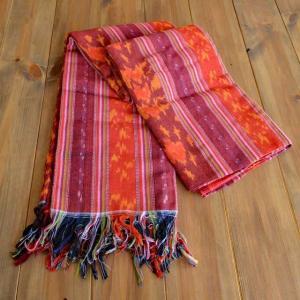 バリ アジアン雑貨 イカット マルチカバー クロス 布 タペストリー ソファ ベットカバー ダブルベッドサイズ ジェパラ 4の写真