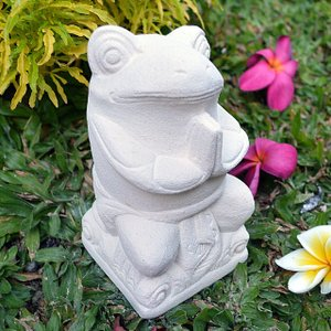 かえる,石像,石彫り,置物,ストーン,彫刻,石造,パラスストーン  人気の石彫りカエルで幸せを呼び込...