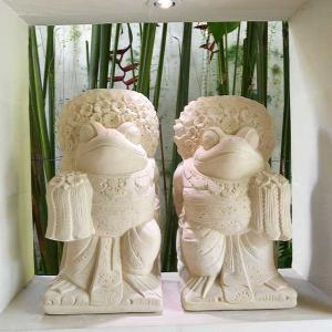 当店オリジナルデザイン  バリ舞踊のカエルをスペシャル装飾で制作してもらいました。 顔の表情や、アク...