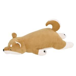プレミアムねむねむアニマルズ 抱き枕L 柴犬のコタロウ 48768-44|iyashinomura-y