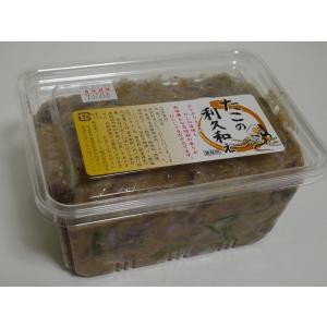 たこ タコ ゴマ風味 珍味 酒の肴 大人の味 おつまみ たこの利休和え 1kg|izakayaouentai