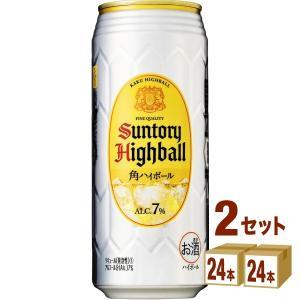 ハイボール サントリー 角ハイボール500ml 48本(24本×2ケース) whisky