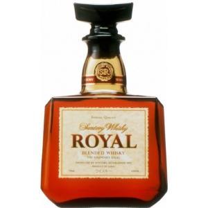 日本のウイスキーの父・サントリー初代マスターブレンダー鳥井信治郎の名作。瓶型は漢字の酉(酒の器)、栓...