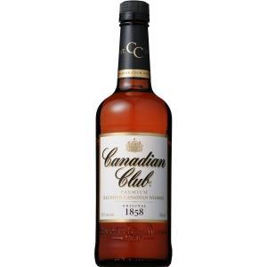 カナディアンクラブ 700ml 「C.C.」の愛称で世界中で愛されているカナディアンウイスキーの代表...