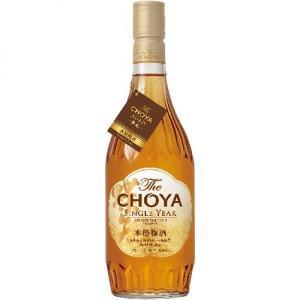 チョーヤThe CHOYA SINGLE YEAR 720ml|izmic-ec