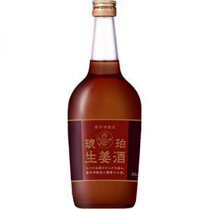 養命酒琥珀生姜酒は養命酒製造が造る生姜の健康酒。生、蒸し、乾燥の3種類の生姜を配合。爽やかな香りと辛...