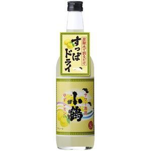 小鶴 サワー専用ゆずレモン 600ml 小正醸造|izmic-ec