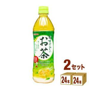 サンガリア すばらしいお茶 500ml 48本|イズミックワールド