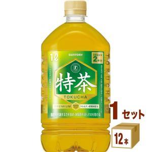 特茶 サントリー 伊右衛門 特茶 ペットボトル1L 1000ml(12本入)