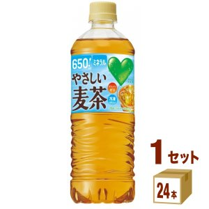 サントリー グリーンダカラ やさしい麦茶 650ml(24本入)