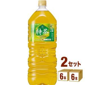 特茶 サントリー 伊右衛門 特茶 ペットボトル2L 2000ml 12本(6本×2ケース)...