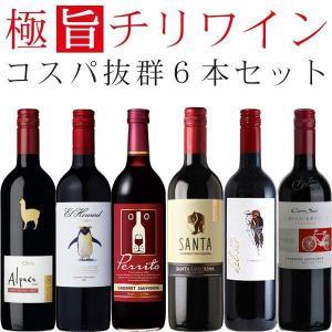 ワインセット 赤 チリワイン(カベルネソーヴィニヨン主体) 飲み比べ 6本セット wine set
