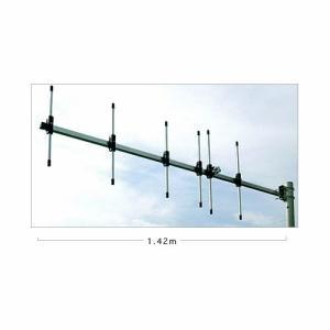 簡易デジタル無線351MHz帯5エレメント八木アンテナです。 移動運用にもご使用いただけるよう組立簡...