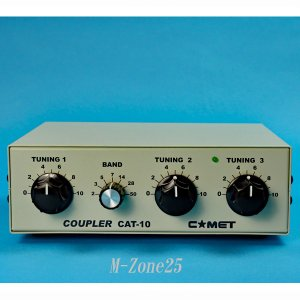 CAT-10A コメット 3.5MHz〜50MHz帯 小型アンテナカプラー CAT10A