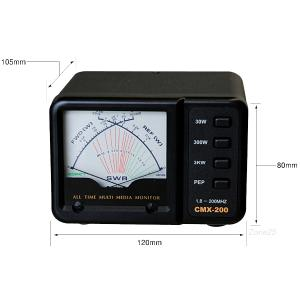 CMX-200 コメット 1.8〜200MHz帯 SWRパワーメーター CMX200|izu-tyokkura