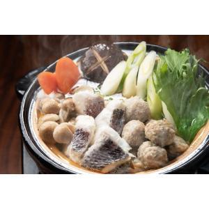 〆のうどん付き 鹿児島県産真鯛の鍋セット 2~3人前|izumida-sengyo