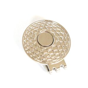 ゴルフボール型 ゴルフボールマーカークリップ 台座のみ 強力マグネット|izumigolf