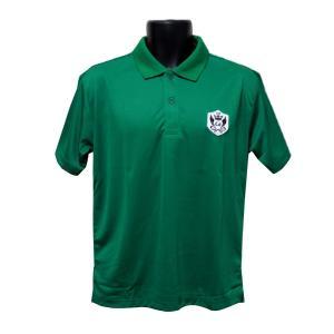 ライトドライポロシャツ 半袖 吸汗&速乾  ゴルフエンブレム グリーン サイズM・L ゴルフ ラウンド|izumigolf