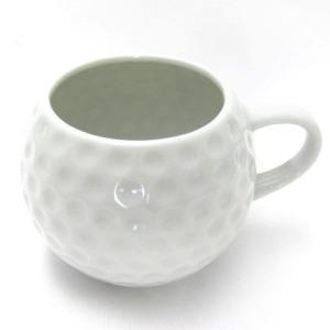 ゴルフボールマグカップ  1個 小物入れ・花瓶・インテリア雑貨|izumigolf