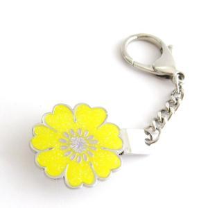 ゴルフ キーキーパー / キークリップ Yellow Flower フラワー navikaナビカ|izumigolf