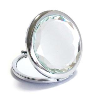 コンパクトミラー クリアミント Clear mint ジュエリーミラー 手鏡|izumigolf