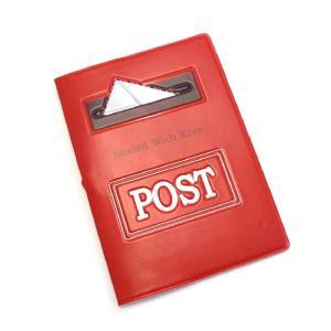パスポートケース / パスポートカバー ポスト Post ビニール製 エンボス加工|izumigolf