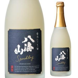 日本酒 八海山 発泡にごり酒 720ml 新潟県 八海醸造 清酒 4合瓶 長S