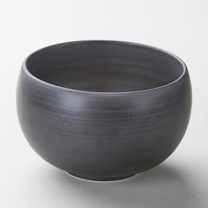 業務用食器 モノトーン(黒)丼(有田焼) 16×10cm 丼