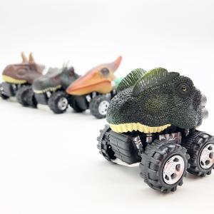 リアル恐竜ミニカー | きょうりゅう 子供向け おもちゃ 車 レーシング おもしろデザイン|izushabotenhonpo