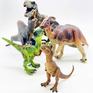 伊豆シャボテン本舗 恐竜 おもちゃ フィギュア ティラノサウルス トリケラ 5点セット izushabotenhonpo