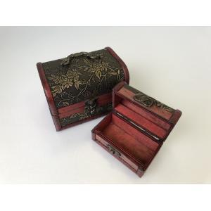 海賊宝箱(大)  レトロ 宝石箱 アンティーク 小物入れ 木箱 ボックス BOX ケース 収納 izushabotenhonpo