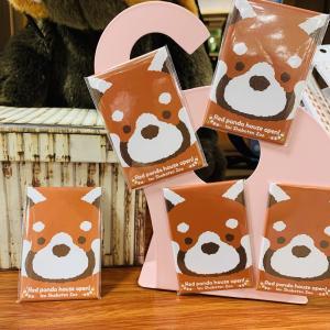 レッサーパンダ 動物マグネット | アニマル おもしろマグネット かわいい雑貨 キッチン雑貨 インテリア お土産|izushabotenhonpo