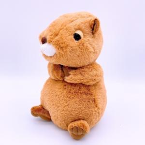 おねだりカピちゃん(S)高さ15cm  | ふわふわ 手触り 人気の動物 カピバラぬいぐるみ kapibara|izushabotenhonpo