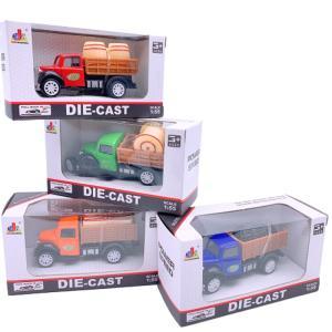 伊豆シャボテン本舗 おもちゃ ミニカー モデルカー コレクション トラック 4個セット & 海賊グッズ付き izushabotenhonpo