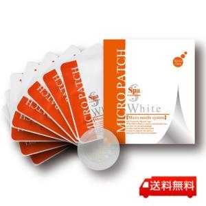 スパトリートメント ホワイトマイクロパッチ 8枚入り マイクロニードル 針 spa treatment 正規品|j-cosme