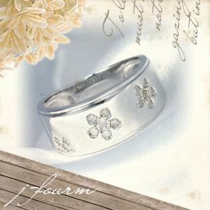 K18 ホワイトゴールド リング ダイヤモンド ピンキー レディース メンズ 指輪  リング シンプル 男性 女性 ペア にも 大きいサイズ マリッジ 可愛い おしゃれ|j-fourm