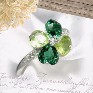 K18 ホワイトゴールド リング ペリドット レディース メンズ 指輪 グリーンクォーツ  リング シンプル 男性 女性 ペア にも 大きいサイズ マリッジ 可愛い おし|j-fourm