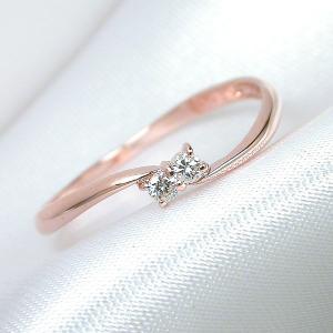 K10 レディース リング メンズ ピンクゴールド ダイヤモンド 指輪 リング シンプル 男性 女性 ペア にも 大きいサイズ マリッジ 可愛い おしゃれ|j-fourm