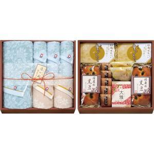 今治タオル&和菓子詰合せ(お名入れ)(IMW-100)(19sm_7048-65)|j-gift