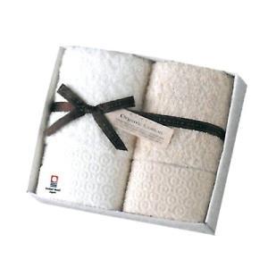 コンテックス ピュアオーガニック フェイスタオル×2(KF-3877) j-gift