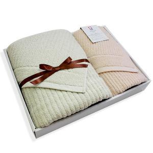 今治タオル ソリッドストライプセット(SS2)バスタオル1枚 フェイスタオル1枚-ホテル仕様-|j-gift