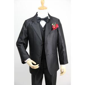 0de37cdc3b701 ... 子供タキシード キッズ フォーマル スーツ 男の子 子供服 シルバー ブラック ゴールド 3色 結婚式 ピアノ ...