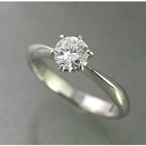 婚約指輪 プロポーズ用 ダイヤモンド プラチナ 0.2ct ...