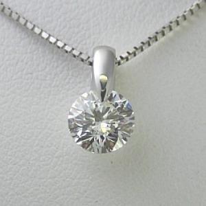 2.0ctupのダイヤモンドネックレス。【Dカラー VVS1クラス 3EXカット】のダイヤモンドを使...