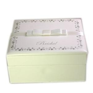 マリッジリング ケース 結婚指輪 化粧箱付 リングピロー